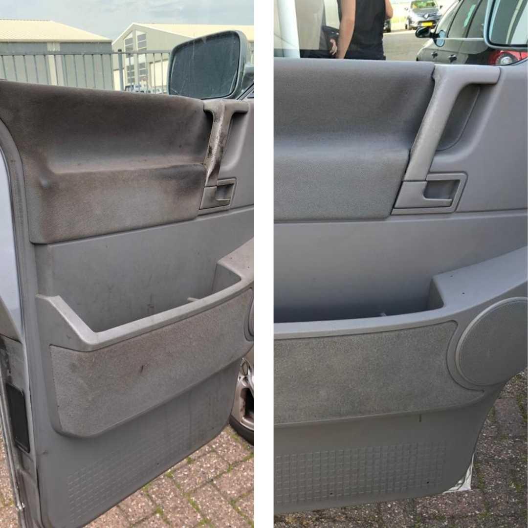Interieur van auto laten poetsen in Friesland