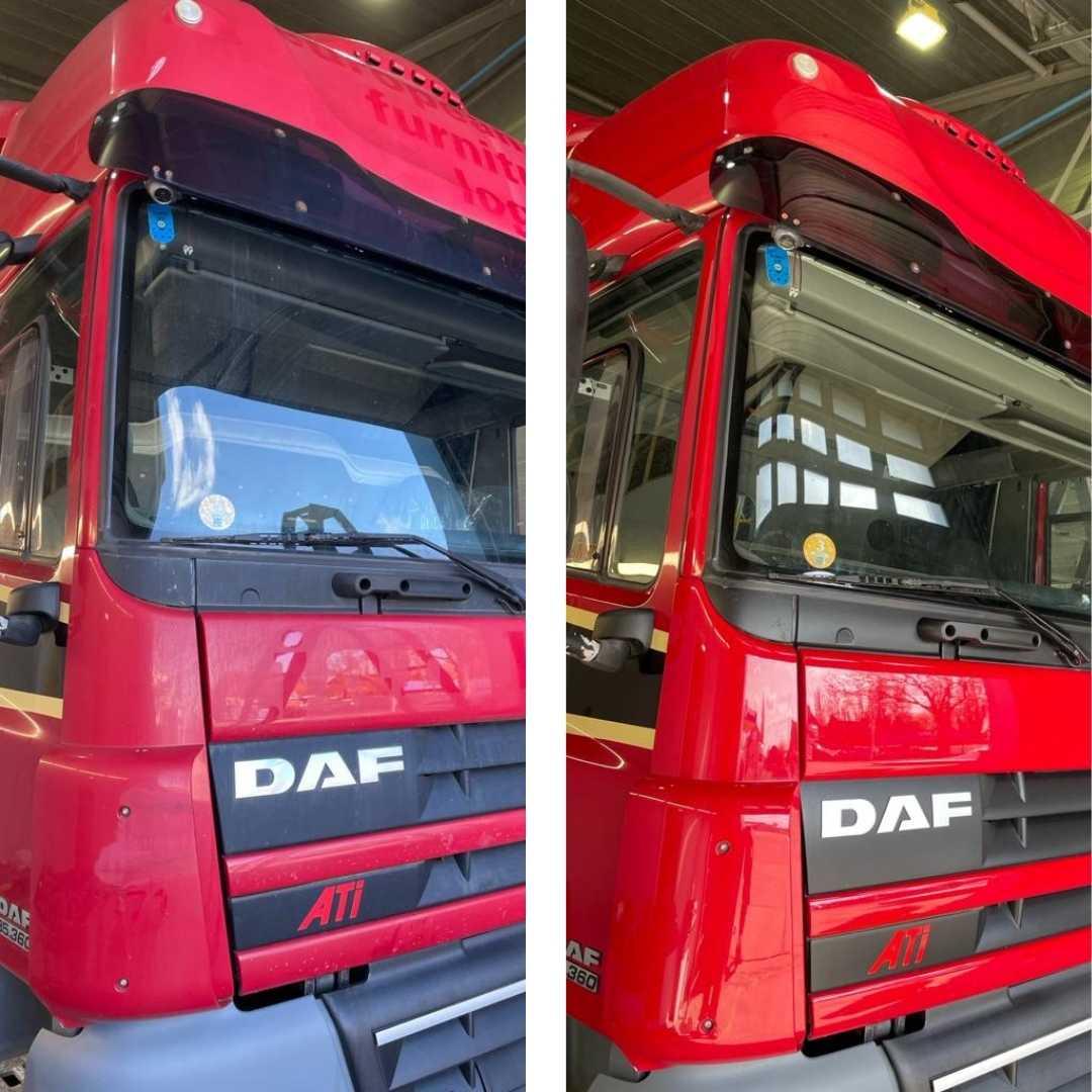 Vrachtwagen laten poetsen in Friesland